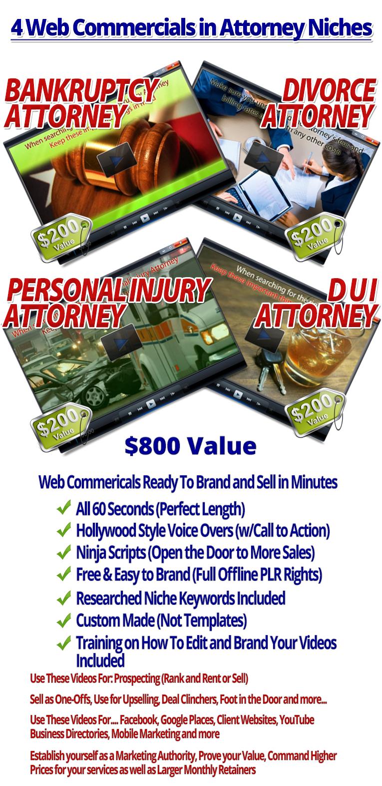 Volume 3.1 Attorney Niches